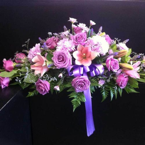 Pink Garden Flower Bouquet | closest flower shop