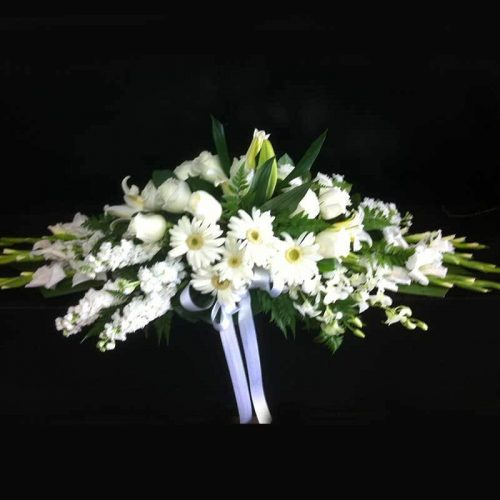 Pure White | beautiful flower arrangements